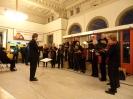 Optreden stationshal op Lichtjesavond